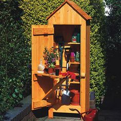 Such a cute tool shed! | Garden Sheds & Hide-Aways | Pinterest ...