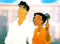 Anika Noni Rose requested that Tiana be left-handed, because she herself is left-handed.