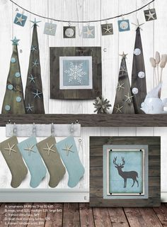 Coastal Christmas Collection- Project Cottage