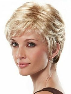 This is one of my personal favorite textured pixie cuts. This one has a standard cap that fits very comfortably and is instantly wearable. A real winner.