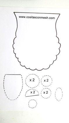 moldes-buho-graduaci%C3%B3n.JPG (450×800)
