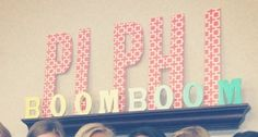 Cute Pi Phi decorations #piphi #pibetaphi