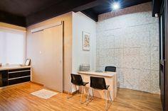 #slidingdoor #trackless #plywood #laminate #woodwork #custommade #goldencarpentry #malaysia