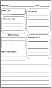 Help your kids learn to take notes during church with these sermon sermon note concepts for journeymen pronofoot35fo Image collections