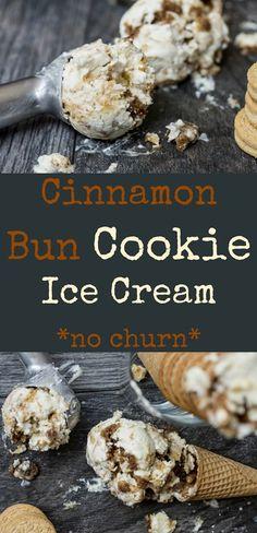 it sweet desserts cinnamon bun cookie ice cream cinnamon bun ice cream ...