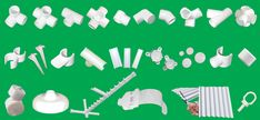 PVC Structure Connectors, Material, Resources and Kits | IXI-Devices