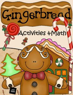 Be inspired by Gingerbreads!This booklet contains a range of worksheets, some that require basic number skills, while others are a bit more complex. There are also som fun problem-solving activities involving gingerbreads. Fun activities where the children are asked to make up their own math problems.