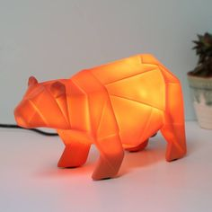Are you interested in our House of Disaster Accessories? With our Origami Bear Night Light you need look no further.