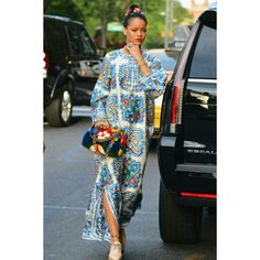 "Love RiRi's Look?Get it now for less as our ""Weekly Special Sale""  Search on our website 👉RACHAEL LUXURY DRESS  Link to get it👉https://www.amekana.com/rachael-luxury-dress  Shop:AMEKANA.COM  #amekana #rihanna #boutique #celebrity #model #blog #goodmorning #blogger #fashionblogger #celebinspired #fashiongoals #fashion #music #maxidress #shoes #bags #purse #luxury #maxidress #"
