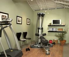Exercise Room On Pinterest Exercise Rooms Home Gyms And Behr