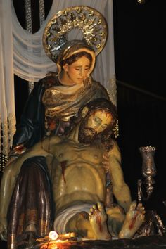 Viernes Santo. La Pasión. 22 h. Good Friday. Procession of the Passion. At 22 h.