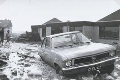 Nieuwbouw wijkje Wijngaard 1974-1975