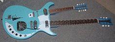 Double Neck Guitars - Dinette Guitars