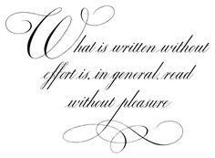 examples of 18th century calligraphy - Google Search
