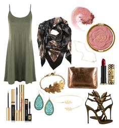 """""""Untitled #63"""" by arcboothtwo on Polyvore featuring WearAll, Sophie Darling, Yves Saint Laurent, NARS Cosmetics, Milani, Accessorize, Anya Hindmarch, Giuseppe Zanotti and Urban Decay"""