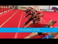 Pirouette Drills - YouTube Gymnastics At Home, Gymnastics Lessons, Preschool Gymnastics, Gymnastics Floor, Gymnastics Tricks, Gymnastics Coaching, Gymnastics Training, Gymnastics Workout, Gymnastics Stuff