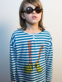 T-Shirts Bobo choses; lunettes Very French Gangsters !!