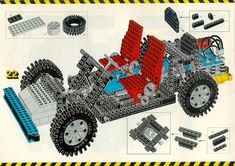 LEGO 8860 Car Chassis instructions displayed page by page to help you build this amazing LEGO Technic set Lego Technic Sets, Vintage Lego, Lego Group, Lego Instructions, Lego Sets, Legos, Car, Inspiration, Game Room Design