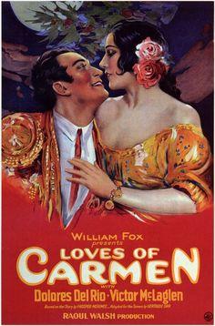 The Loves of Carmen starring Delores Del Rio - 1927