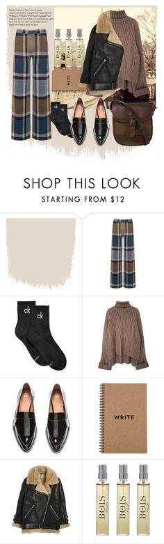 """""""Autumn Style (with song in description)"""" by betulkizilirmaak ❤ liked on Polyvore featuring Warehouse, Calvin Klein, Acne Studios, Bois and DUBARRY"""
