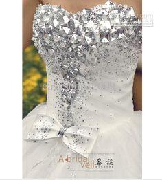 crystal beaded wedding dresses - Google Search