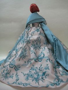 Miniature - Back Detail of Provencale Gown | Flickr - Photo Sharing!