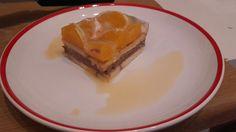 Cake with Nutella and orange