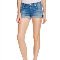 Hudson denim shorts Perfect sophisticated denim shorts for summer! In great condition. Hudson Jeans Shorts Jean Shorts
