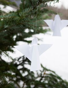 24. Make paper angels