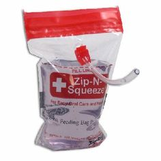 Zip-n-Squeeze Z-100 bags for thin liquids. Your best friend after jaw surgery! Find it at http://www.dentakit.com/zipnsqueeze.html