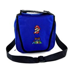 Genuine Official Super Mario Ds Case Bag Carry Holdall Lite Dsi 3ds 2ds XL VGC Super Mario Ds, Video Game Console, Carry On, Computers, Bags, Accessories, Handbags, Hand Luggage, Hand Carry Luggage
