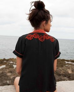 Strike Embroidered Shirt | RVCA