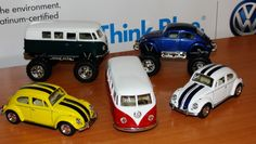 Stocking stuffers 2013 - mini VWs! Available at the Denver Volkswagen location of Larry H. Miller Volkswagen, 8303 W. Colfax Ave, Lakewood, CO 80214, 866-871-8292.