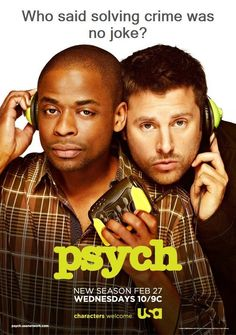 James Roday and Dule Hill - Psych
