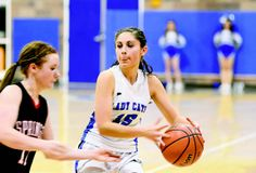 Questa's Briana Ortega controls the tempo Friday (Feb. 7) against Springer.