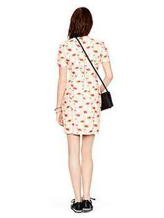 flamingo sheath dress by kate spade new york