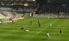 Les Girondins de Bordeaux calent contre Nice et prennent un nouveau carton rouge