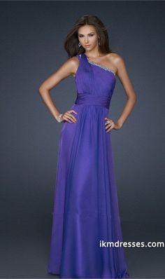 015 Collection Blue One Shoulder Sheath/Column Prom Dresses Under 200 Chiffon http://www.ikmdresses.com/2012-Collection-Blue-One-Shoulder-Sheath-Column-Prom-Dresses-Under-200-Chiffon-p81794
