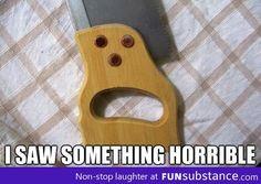 I Saw Something Horrible