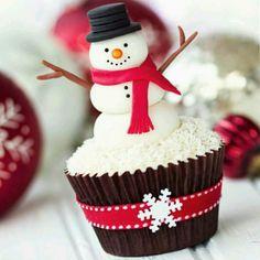 Cupcake natalino  @holly.jolly.xmas.inspiration