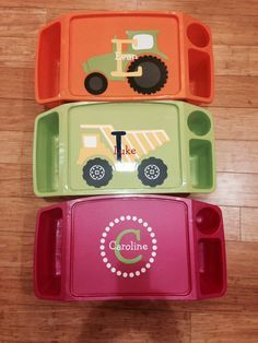 Personalized Lap Tray for Kids by TheVinylCountdownLaf on Etsy