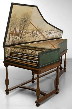 Wow this one is so beautiful.  Harpsichord