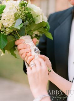 Great Idea for personalizing a bouquet