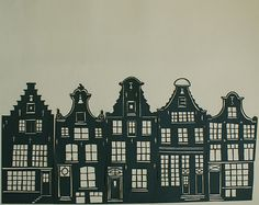 So beautiful are these papercuts by Joseph Seragan - Dutch Buildings