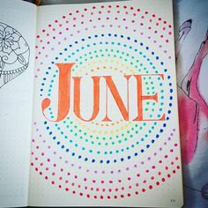 It's almost time to wish May goodbye which means it's time to plan with me as we decide on our Bullet Journal June Cover pages and other spreads for the month ahead!