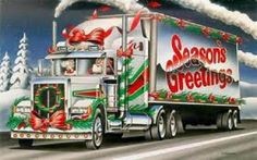 Items similar to christmas santa trucker trucking Holiday Custom Personalized Address Labels on Etsy Country Christmas Music, Father Christmas, Pink Christmas, Christmas Wishes, Christmas Greetings, Christmas Time, Merry Christmas, Christmas Ideas, Christmas Wallpaper Hd