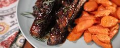 Brown Sugar Bourbon Barbecue Ribs ~ Too cold to go outside to barbecue ...