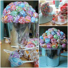mason jar wedding centerpiece ideas | ... Dum lollipop centerpieces and communion ideas | Ai events & parties