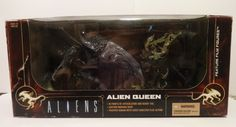 McFarlane Aliens Movie Maniacs Alien Queen With Chest Bursting Deluxe Boxed Set #McFarlaneToys