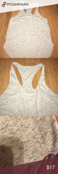Tank top From PINK Gray Tank Worn Once! PINK Victoria's Secret Tops Tank Tops